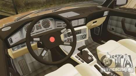 BMW 535is E28 Sharkie для GTA 4 вид сбоку
