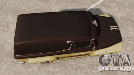 Vapid Slamvan для GTA 4 вид справа