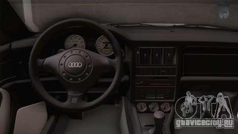 Audi RS2 Avant для GTA San Andreas вид справа