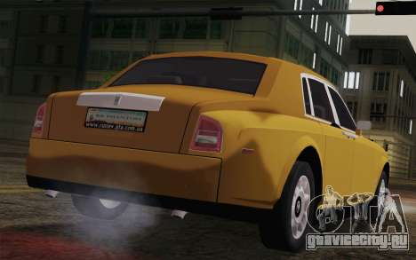 Rolls Royce Phantom 2003 для GTA San Andreas вид слева