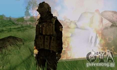 Kopassus Skin 3 для GTA San Andreas седьмой скриншот