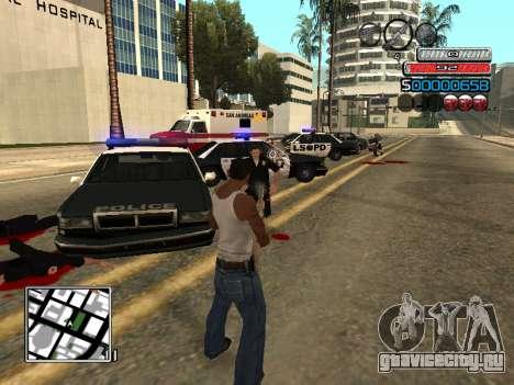 Новый C-HUD для GTA San Andreas пятый скриншот