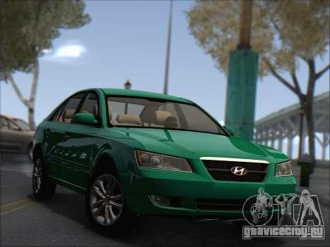 Hyundai Sonata 2009 для GTA San Andreas
