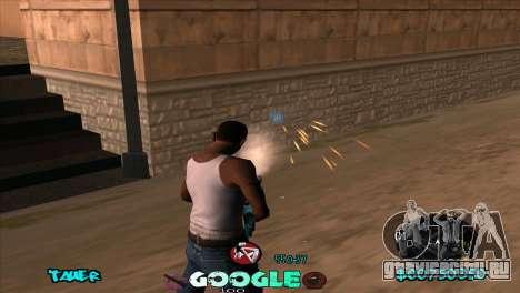 C-HUD Google для GTA San Andreas четвёртый скриншот
