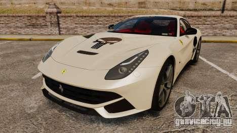 Ferrari F12 Berlinetta 2013 [EPM] Deaths-head для GTA 4