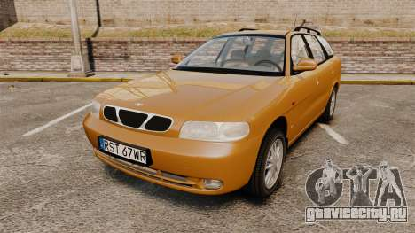 Daewoo Nubira I Wagon CDX PL 1998 для GTA 4