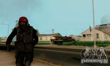 Kopassus Skin 1 для GTA San Andreas четвёртый скриншот