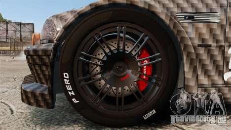 BMW M3 GTR 2012 Drift Edition для GTA 4 вид сзади