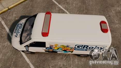 Volkswagen Transporter T5 Groby Netshop [ELS] для GTA 4 вид справа