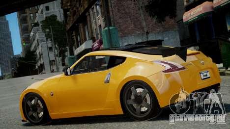 Nissan 370Z 2009 для GTA 4 вид слева