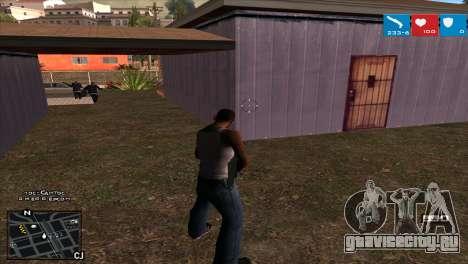 C-HUD Lumia GTA V для GTA San Andreas третий скриншот