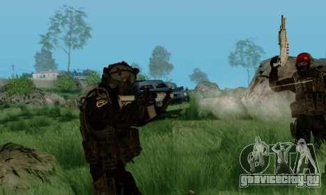 Kopassus Skin 3 для GTA San Andreas шестой скриншот