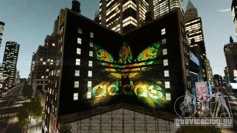 Большая реклама Adidas Originals для GTA 4 второй скриншот