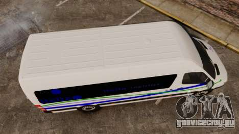 Mercedes-Benz Sprinter Itella Logistics для GTA 4 вид справа
