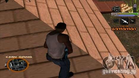 C-HUD TV-Центр для GTA San Andreas второй скриншот