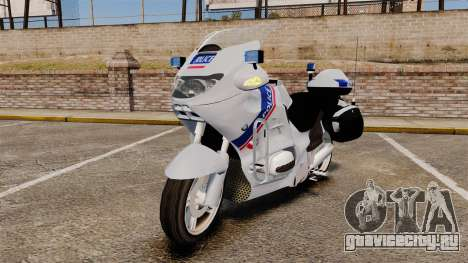 BMW R1150RT Police nationale [ELS] для GTA 4