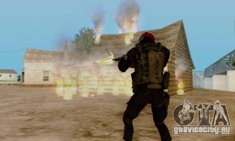 Kopassus Skin 1 для GTA San Andreas восьмой скриншот
