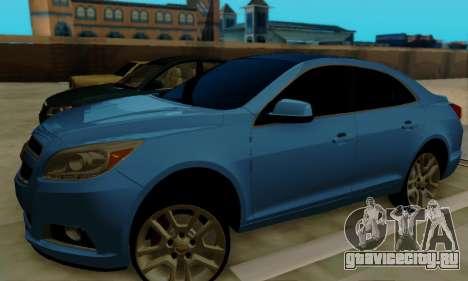 Chevrolet Malibu для GTA San Andreas вид сзади слева