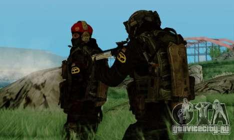Kopassus Skin 3 для GTA San Andreas пятый скриншот