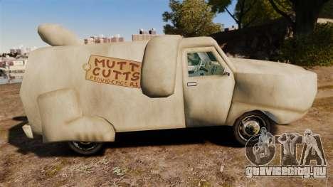 Фургон -Тупой и еще тупее- для GTA 4 вид слева