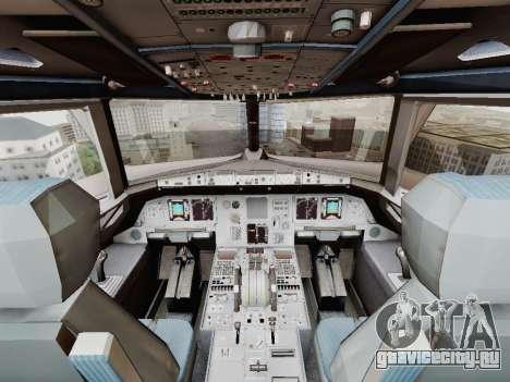 Airbus A320-211 China Eastern для GTA San Andreas вид сверху