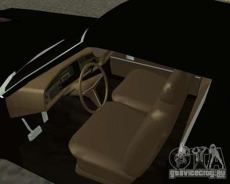 Buick Riviera 1972  Classic для GTA San Andreas вид сзади слева