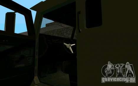 GTA V Police Riot для GTA San Andreas вид сзади слева