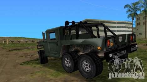 Patriot 6x6 для GTA Vice City вид слева