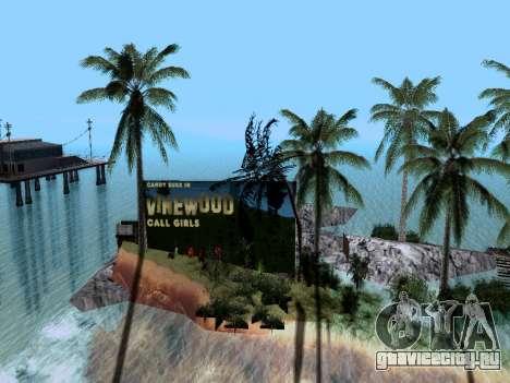 Новый остров v1.0 для GTA San Andreas четвёртый скриншот