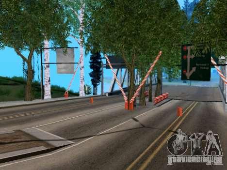 Таможня Los Santos-San Fierro v2.0 для GTA San Andreas