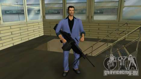 M249 из Battlefield 2 для GTA Vice City третий скриншот