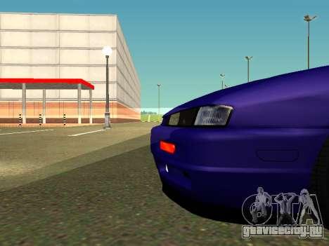 Nissan Silvia S14 Kouki для GTA San Andreas вид сзади слева