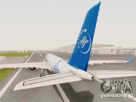 A330-202 China Eastern для GTA San Andreas вид слева
