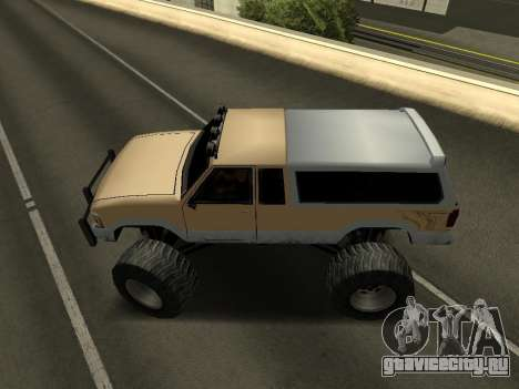 Новый Monster для GTA San Andreas вид справа
