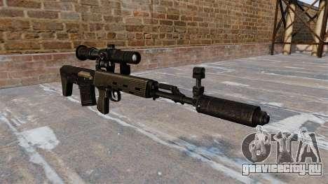 Снайперская винтовка укороченная для GTA 4