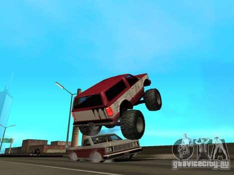 Street Monster для GTA San Andreas салон