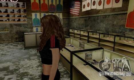 Carlita для GTA San Andreas второй скриншот