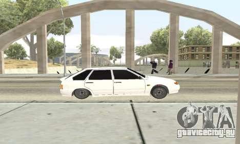 ВАЗ 2114 Avtosh для GTA San Andreas вид сзади