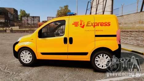 Peugeot Bipper LP EXPRESS [ELS] для GTA 4 вид слева
