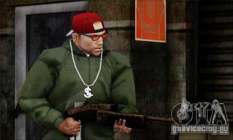 Alfa Team Weapon Pack для GTA San Andreas седьмой скриншот