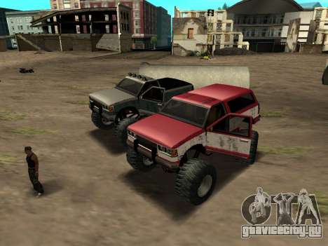 Street Monster для GTA San Andreas вид слева