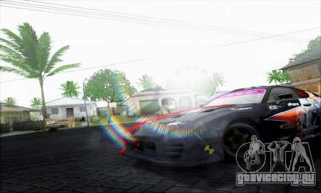 Lensflare By DjBeast для GTA San Andreas третий скриншот