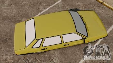 ВАЗ-21099 Лада Спутник для GTA 4 вид справа
