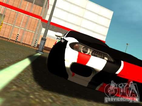 Nissan Silvia S15 Team Dragtimes для GTA San Andreas вид сзади