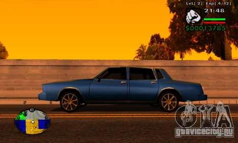Полоска HP машины для GTA San Andreas