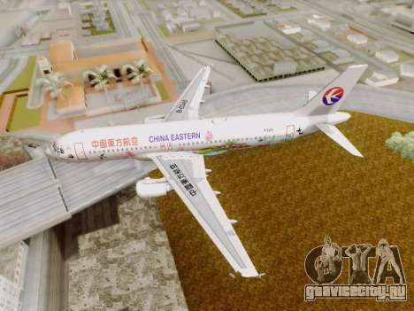 Airbus A320-211 China Eastern для GTA San Andreas вид сбоку