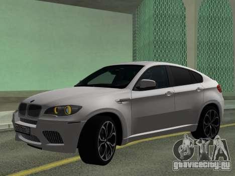 BMW X6M 2010 для GTA San Andreas вид слева