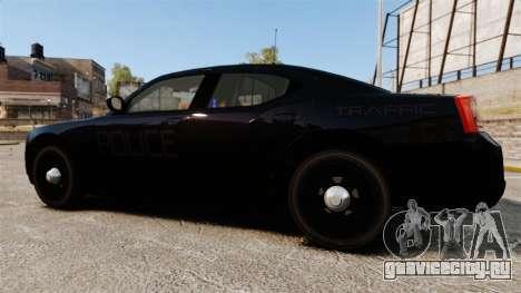 Dodge Charger Slicktop Police [ELS] для GTA 4 вид слева