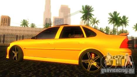Opel Vectra B TUNING для GTA San Andreas вид слева