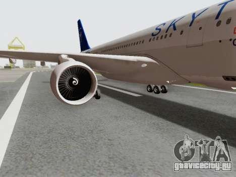 A330-202 China Eastern для GTA San Andreas вид сзади